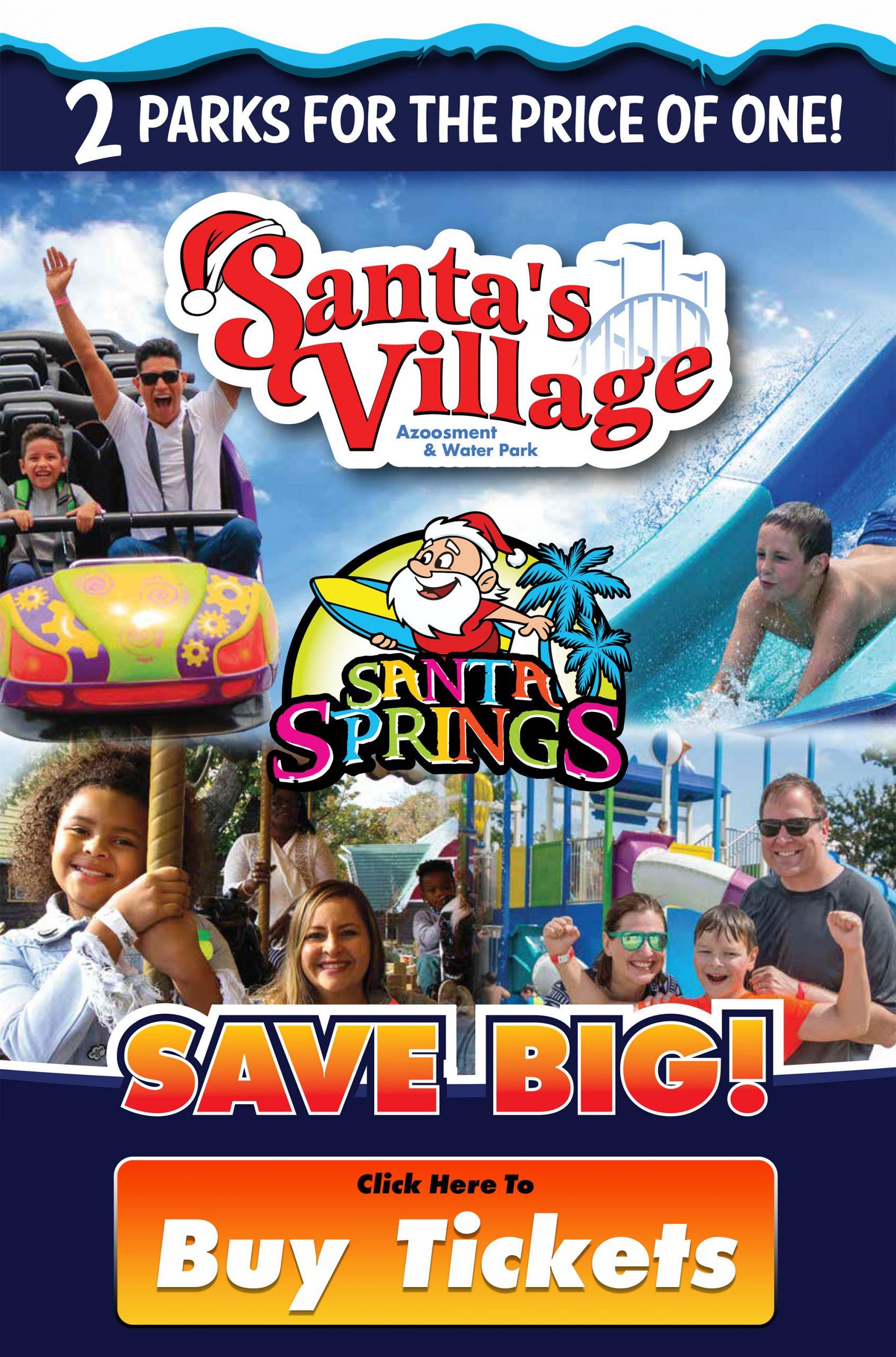 Santa's Village eTix Discount Image