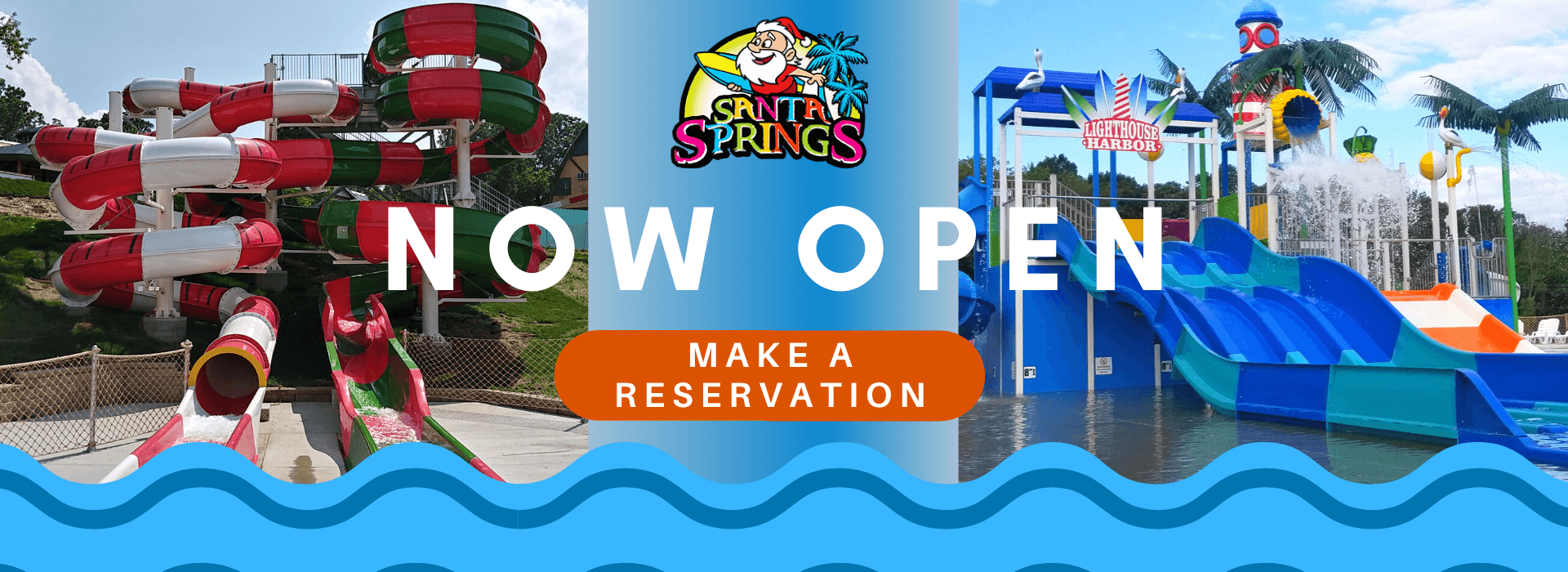 Santa Springs - Now Open - Make a Reservation